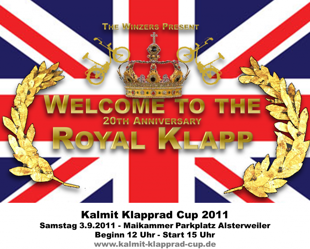 Welcome to the Royal Klapp - Kalmit Klapprad Cup 2011
