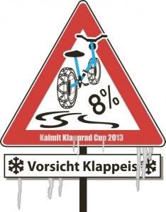 Das Kalmit-klapprad-Cup Motto 2013 Vorsicht Klappeis!