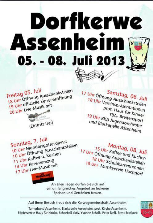 Kerweumzug Assenheim