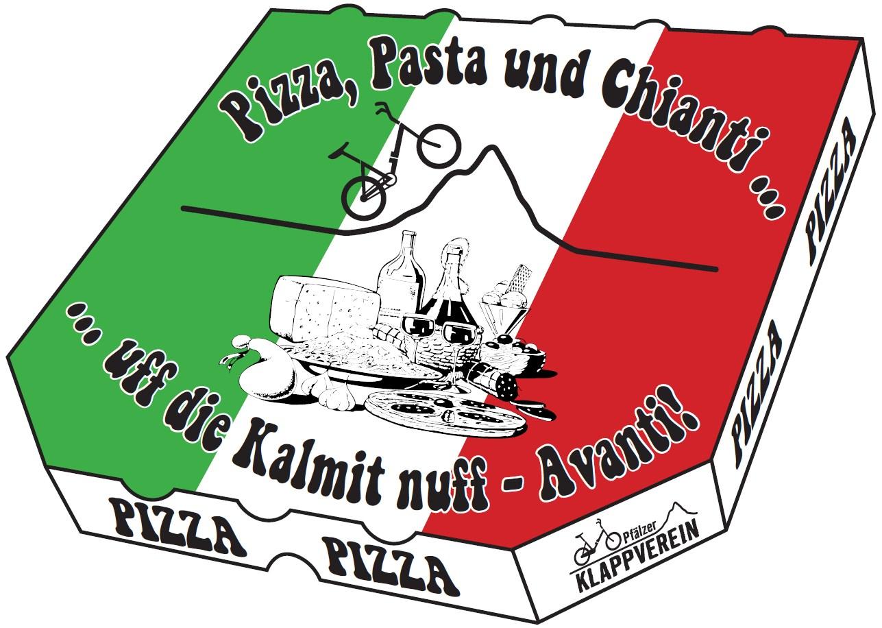 KKC 2016 Logo Pizza Schachtel