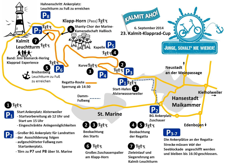 Seekarte kkc 2014