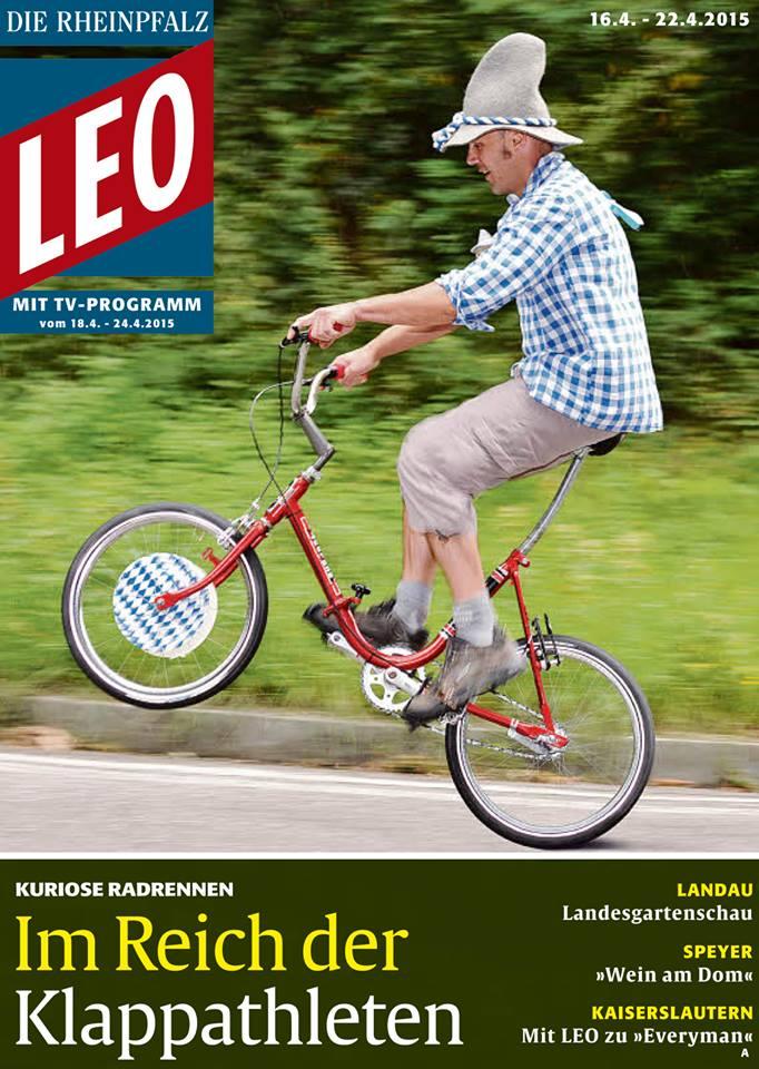 LEO Rheinpfalz Titelseite 16-4-2015 Peter B - Hans Oppinger