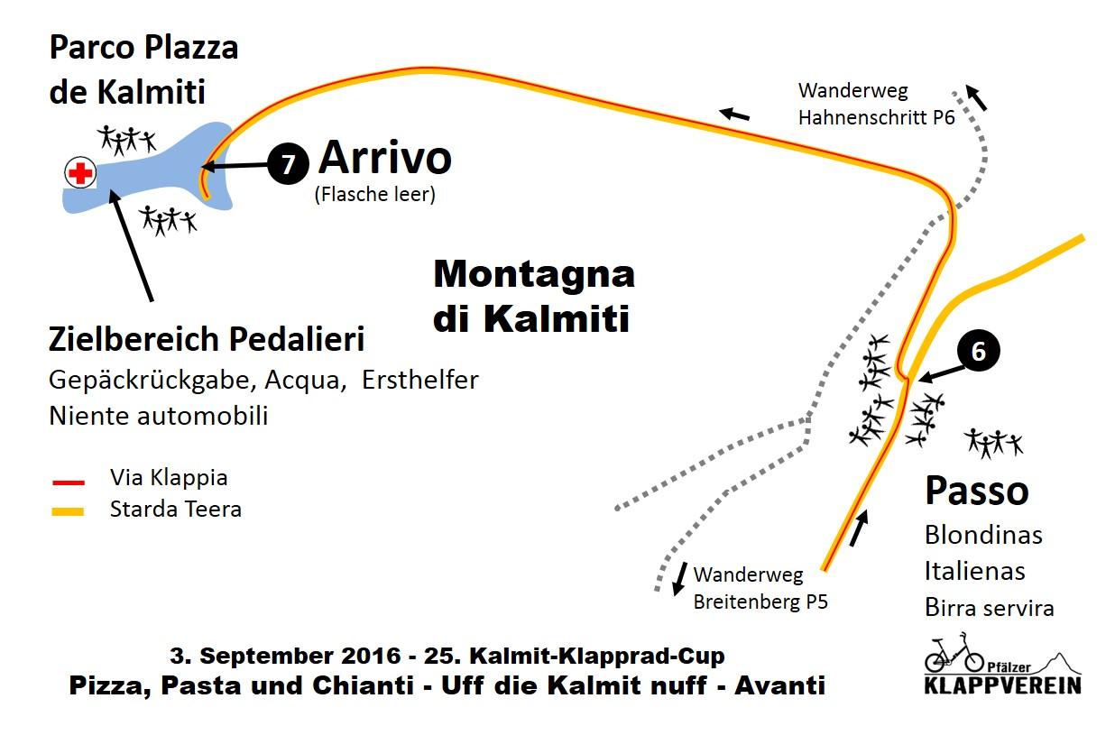 KKC 2016 Karte Arrivo