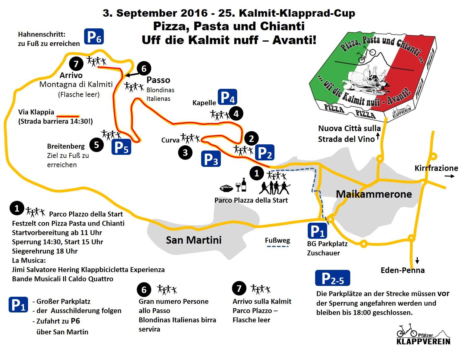 KKC 2016 Karte